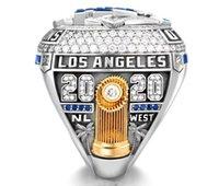 Persönliche Kollektion 2020-2021 Los Angeles Dodge Style Baseball Nation Championship Ring mit Sammelkoffer des Sammlers