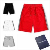 망 반바지 패션 여름 남성 편지 인쇄 짧은 바지 캐주얼 버즈 남성 streetwear 의류 4 색
