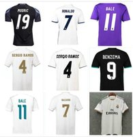 Real Madrid Ретро Футбольная Рубашка 2013 2014 2015 2016 2017 2019 2015 2016 2017 2017 2019 2020 Роналду Футбол Джерси Серхио Рамос Asensio Benzema 15 16 17 18