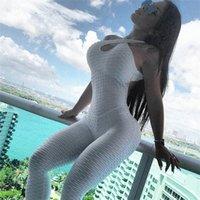 요가 바지 원피스 jumpsuit 스포츠 레깅스 스포츠웨어 세트 의류 Backless 양복 여성 엉덩이 리프팅 운동 Tracksuit 리프트 꽉 맞는 G62E #