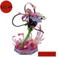 Anime Figurine Model Demon Slayer Kimetsu No Yaiba Kanroji Mitsuri Action Figures PVC Model Toys Collection Doll Gift 210928