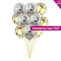 10Pcs Pailletten Confetti Party Decoration Diy Muslim Islamic Poison Ornament Ramadan Eid Mubarak Thuis Latex Festival Balloon Set