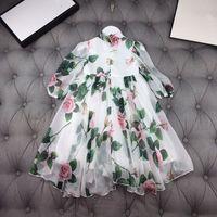여자 드레스 아이들의 의류 여름 봄 가을 소녀 레이스 공주 파티 드레스 어린이 드레스 542 Y2