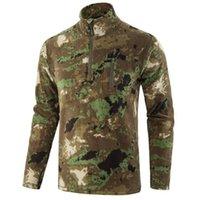 Giacche da uomo Maglione tattico in pile in pile da uomo Casual cammuffamento giacca militare termica inverno all'aperto cappotto caldo Jaquetas