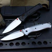 BM535 Folding Hunitng knives Outdoor tool for men ,M390 Stainless Steel Knifes Aluminum BK Handle,EDC Tools Multifunction,2colors
