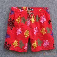 Mens Summer Swing Short Vilebrequin Bermuda Beach Vêtements Tortues Nouveauté Summer Shorts Casual Hommes Style Mode Style Hommes Shorts