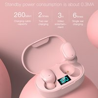 TWS Wireless Bluetooth 5.0 Headset E6S PRO Music Earphones Mini Earbuds Colorful with Charging BOX Sport for Xiaomi Smartphone