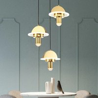 loft crystal 3 lights Pendant Lamps fixtures for dinning houses lighting champion gold color suspension light fitting