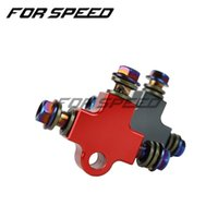 Motorcycle Brakes Universal Modified Hydraulic Brake Hose Line CNC Pipe Connector Coupling T Tee Fitting 3way Adapter Dirt Pit Bike ATV