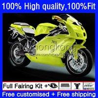Spritzgussverkleidungen für Ducati 749-999 749s 999s 749 999 Körperarbeit 03-06 15No.32 749 999 S R 03 04 05 06 749R Yellow Green 999R 2003 2004 2005 2006 OEM Bodys Kit