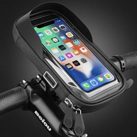 Cell Phone Mounts & Holders 6.4 Inch Waterproof Bicycle Holder Stand Motorcycle Handlebar Mount Bag Cases Universal Bike Scooter Bracket