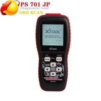 Escáner original con clasificación superior para Auto XTOTOLS PS701 JP Herramienta de diagnóstico PS 701 OBD2 autos @ 9 Herramientas