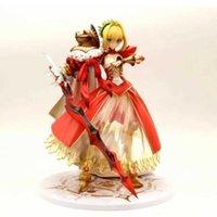 25 CM Anime Şekil Kader / Kalmak Gece Seksi Kız Saber Nero Claudius 3rd Yükseliş Şekil PVC Action Figure Oyuncaklar Koleksiyonu Model Y0705