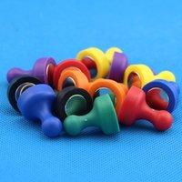 Couleur mixte Opaque Poussée magnétique colorée DIY pour l'autocollant de réfrigérateur Enseignement Pratique Magnétique ThumbTack Outil Bwe9514