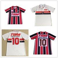 1993 Sao Paulo Retro Home Stadium Camisetas de Fútbol United Soccer Jersey Vintage Camisa de Fútbol Classic Camiseta