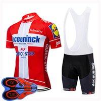 Мужские летние быстрые шаговые команды Велоспорт Джерси набор с коротким рукавом дорожный велосипедные наряды гоночный велосипед одежды на открытом воздухе спортивная форма H042125