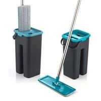 MOP avec essorage pour sols de lavage SDARISB MOP Bucket Maison Nettoyage 210907