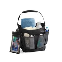 Shower Storage Bag Mesh Caddy Basket Multi-Purpose Durable Portable Lightweight Hanging Bath Organizer Tote Accessory Set