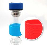 Portabicchieri in silicone anti-scottatura multicolor tazza di bevitori per utensili per acqua di vetro antiscivolo Pustotori isolanti senza scivolamento OOD6378