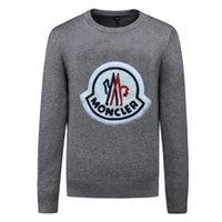 Мода осень зима дизайнер мужчин свитер высокого качества с длинным рукавом капюшон хип-хоп кофты мужские женщины повседневная одежда свитер M-3xLAQ04