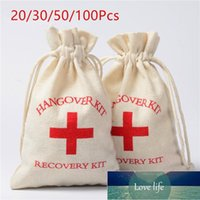 20pcs Hangover Kit Bags Wedding Favors Gifts For Guests Holder Bag Bachelorette Hen Party Supplies