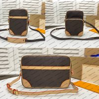 M45236 designer canvas homens mulheres mini saco genuíno bezerro couro ombro bolsa de embreagem noite crossbody bolsa de bolsa de bolsa m45254