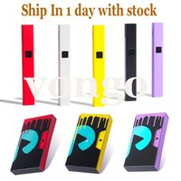 Renkli DNA Fişi Pil Pod Box Mod USB Şarj 510 Kalın Yağ Kartuşu VS Vizyon Spinner Hurma Için 500mAh Pil