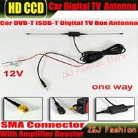 Vista traseira de carro Câmeras Sensores Estacionamento Antena Digital TV DVB-T ISDB-T Aérea com um conector SMA 5m