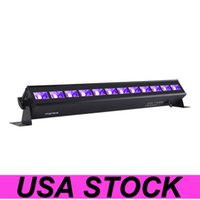 USA Stock Lights paint and fluorescent lamps 36W Black Lighting Ultra Violet LED Flood Light, for Dance Party, Blacklight , Fishing, Curing, Body