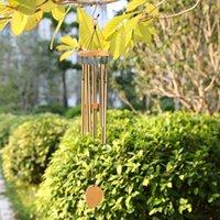 Bahçe Süslemeleri Alüminyum Metal Rüzgar Çanları Ev Dekorasyon Tatil Hediyeler Yaratıcı