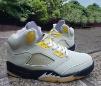 5 Jade Horizon Men basketball shoes 5s Light Silver-Anthracite-Pink GlazeOutdoor Sports Sneakers DC7501-300 With Box