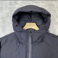 2022 New Fashion Newest polypropylene Coat men Long down jacket reversible waterproof two-sided hooded 90% real