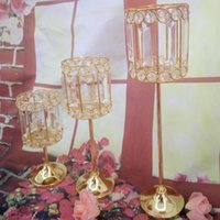 Party Decoration Style Crystal Wedding Flower Stand Centerpiece For Event