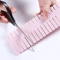 Diy Delies Decters Пластиковая сетка Регулируемые вывески для выдвижных ящиков Бытовая сетка для домашних ящиков для дома Tidy Close Makeup Socks GWA7946