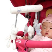 Stroller Parts & Accessories 2021 Baby Crib Rattles Plush Toys Soft Pram Rattle Hanging For Born Bed Pendant Bell Toy