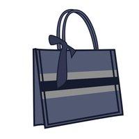 Bolsa de compras de laboratório de tênis Moda moda clássico homens e mulheres carteira bolsa de lona padrão multicolorido tecido bolsa de compras tecida