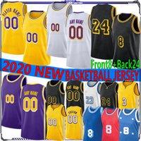23 6 Anthony New Basketball 8 Jersey 3 Davis Russell 0 Westbrook Carmelo 7 Anthony Kyle Men 2022 NCAA 농구 유니폼 32 남자 셔츠 3