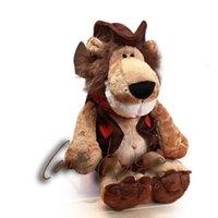 Plüschpuppen eignen sich für Nic Lion Elefant It Kinderspielzeug Simulation Jungle Tiger Puppenserie