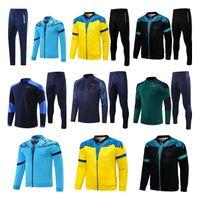 2021 Italien Fussball Training Anzug 20 21nöchel Erwachsene und Kinder Insignente Verratti Ghiellini Langarm Fußballjacke Pullover Trainingsanzug