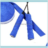 Safety Athletic Outdoor As Sports & Outdoorsreel 10M Towel Glue Grip Anti-Slip Badminton Tennis Overgrips Racket Sweatband Drop Delivery 202