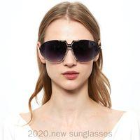 Mujeres 2021 Gafas de sol Gafas Vintage Hombres Clear Lens Máscara de lujo retro para hombre gafas de sol diseñador de la marca Eyewear FML