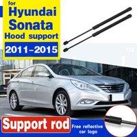 2 adet Ön Motor Kapağı Bonnet Hood Şok Kaldırma Struts Bar Destek Kol Gaz Bahar Hyundai Sonata 2011 2012 2013 2014 2015