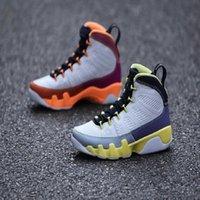 marchio moda cambia il mondo jumpman 9 scarpe da basket da uomo bacca del deserto bianca guarigione arancione fiore di cactus IX 9s scarpe da ginnastica da uomo air jordan 9 shoes