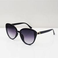 Alta Qualidade Moda Mulher Óculos de Sol Occhiali da Sola Cat Eye Rodada Óculos Mens Sunglass Gafas De Sol Luxuriouser Designer Brand Women Eyeg