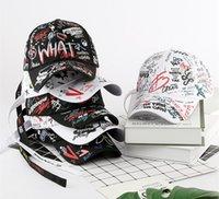 Chapéus ao ar livre Mulheres Correndo Caps Graffiti Boné de Beisebol Ajustável Summer Sport Hat Golf Wear Homens Snapback para senhoras