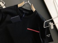 21SS новые классические повседневные мужские футболки на заказ шелковые ткани удобные тройники чувствуют шелковистый треугольник металлический металл высокой плотности сплошных цветов