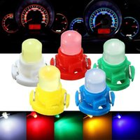 Światła awaryjne 10 sztuk T4 LED Neo Wedge Dashboard Cluster Claster Panel Samochodowy Gauge Dash Blub White / Blue / Red / Green / Yellow DC 12V