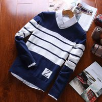 Men's Sweaters men's pullovers 100% cotton with long-sleeve cleavage for men formal casual clothing autumn m- arrival sweaters BXZN