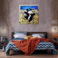 Dans Yağlıboya Tuval Üzerine Ev Dekor El Sanatları / HD Baskı Duvar Sanatı Resim Özelleştirme Kabul Edilebilir 2105012