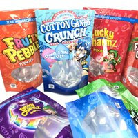Gummies Mylar Bag Dry Herb Flowers Flavor Storage Empty Pouches Edibles Baggies Waterproof Smell Proof Cookies Zip-lock Retail Packing Customize 500mg 600mg
